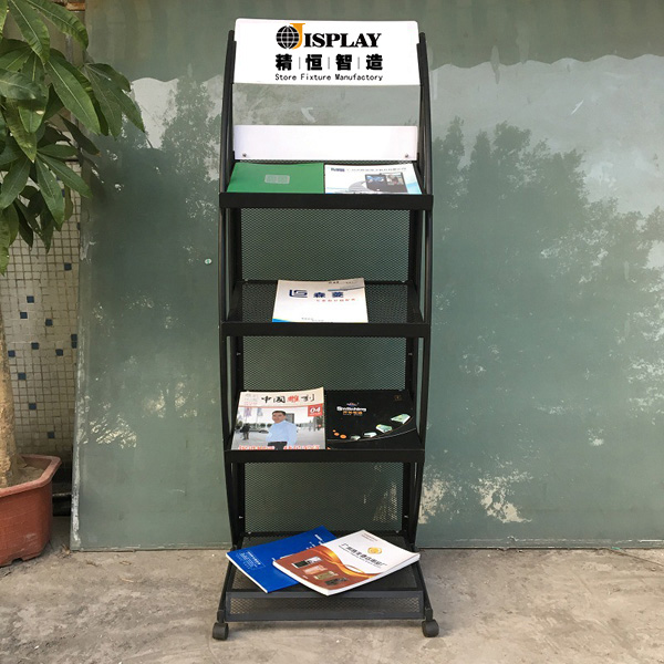 5 tier book rack